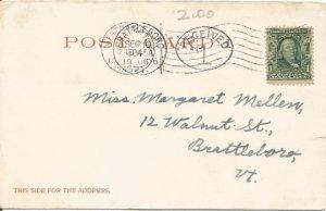 Mount Tom Railway Holvoke Massachusetts 1905 Detroit Publishing Co. Undivided