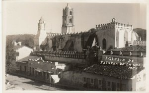 RP, Iglesia De Ixtapande la Sal , Mexico, 1930-1940s