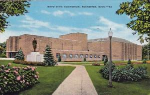 Minnesota Rochester Mayo Civic Auditorium 1945