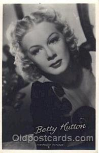 Betty Hutton Actor, Actress, Movie Star, Postcard Post Card Actor Actress, Mo...