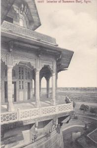 AGRA, India; Interior of Summon Burj, 00-10s