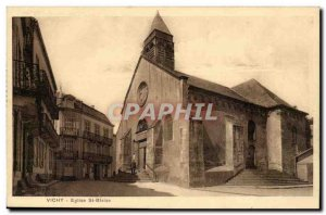 Vichy Postcard Ancient Church St Blaise