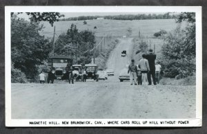dc167 - MAGNETIC HILL NB 1950s Real Photo Postcard
