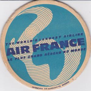 AIR FRANCE ; Coaster, Perfection in Jet Travel, Boeing & Caravelle Les 2 Meillsu