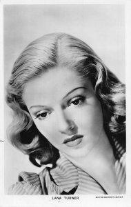 Lana Turner Metro Goldwyn Mayer Film Star Postcard