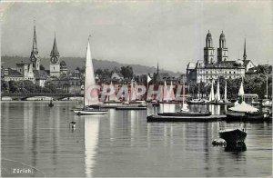 Old Postcard Zurich