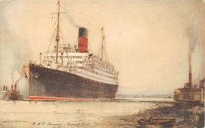 5461  R.M.S. Laconia   Cunard Line
