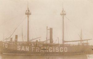 RP: SAN FRANCISCO LIGHTSHIP , S.F. , California  , 1900-10s