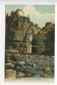 425829 ALGERIA CONSTANTINE Rhummel Gorges Sidi Rached Vintage postcard