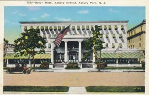 ASBURY PARK , New Jersey , 1900-10s ;  Ocean Hotel, Asbury Avenue