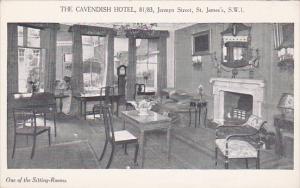 The Cavendish Hotel , 81/83 Jermyn Street , St James, S.W.1, 00-10s : Sitting...
