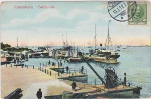 Toldboden, Kobenhavn, Denmark, 1900-1910s