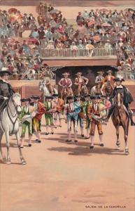 Corrida Bull Fight Salida De La Cuadrilla
