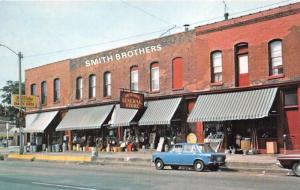 Clinton Iowa~Smith Brothers General Store~True Value~Classic Car in Front~1960s