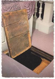Touro Synagogue  , NEWPORT , Rhode Island , 50-70s : Entrance to Underground ...