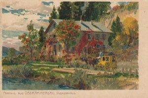 GERMANY, 1901-07; Parthie aus OBERAMMERGAU, Diemerhaus