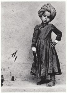 New Delhi Indian Boy Turban Headwear Pots Of Ink Raghu Rai Postcard