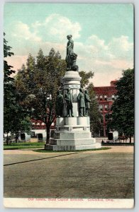 Columbus Ohio~State Capitol Grounds~Our Jewels Monument: Statesmen of Ohio~c1910