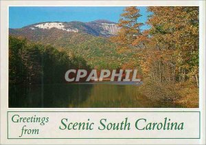 Modern Postcard Greeting from South Carolina Scenic Mountain