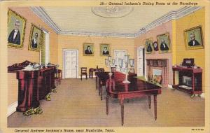 General Jacksons Dining Room At The Hermitage General Andrew Jacksons Home Na...