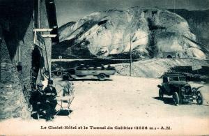 France Le Chalet Hotel et le Tunnel du Galibier 02.93