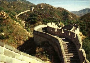 CPM AK Peepholes on the Great Wall. CHINA (668759)