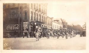 Big Rapids MI~Ferris State Home Coming Parade~Smith's Grocery Oct 17 1931 RP