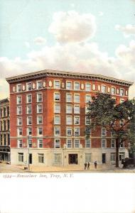 Troy New York~Three Boys @ The Rensselaer Inn~Postcard c1906 UDB
