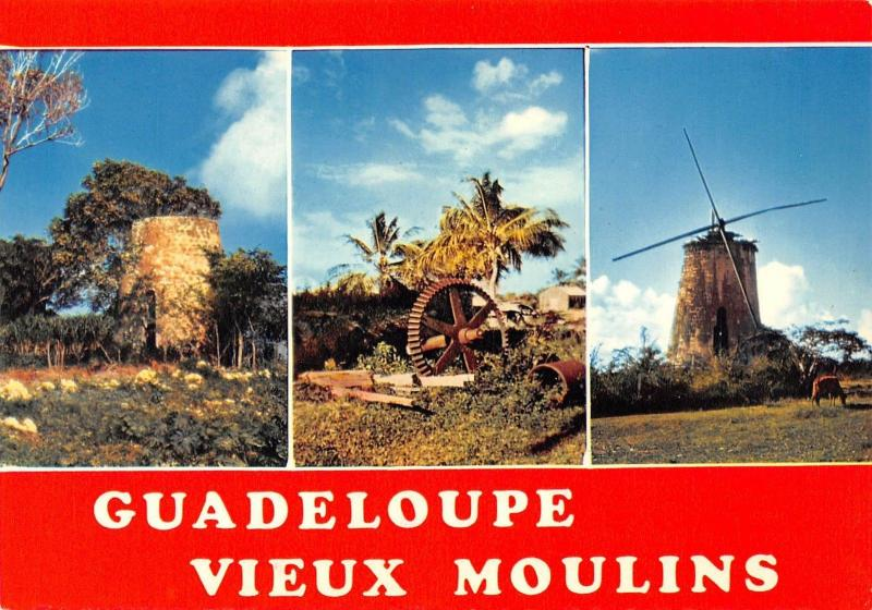 Guadeloupe Vieux moulins Old Mills multiviews Muhle Moule