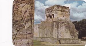 Mexico , 40-60s ; Ball Court & Jaguar Temple , Chichen Itza , Yucatan