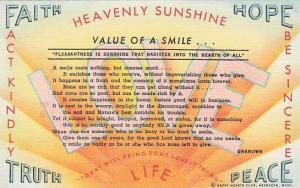 Value of A Smile,  Happy Hearts Club, Aberdeen, Washington,  30-40s