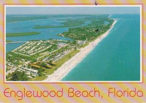 Florida Englewood Beach Aerial View 1991
