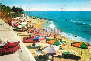 Postcard Modern Bulgaria Zlatni Piassatzi Journalists International House The...