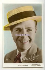 b6228 - Film Actor - Dick Powell, , Warner Bros.& Vitaphone, No.62 - postcard