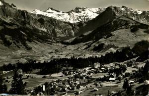 Switzerland - Adelboden  *RPPC