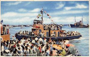 Singapore, New Year Sea Sports, Ship, J. Arthur Dixon, I.o.W.