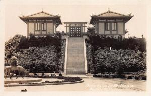 Bernheimer Residence, Pacific Palisades, California, early postcard, unused
