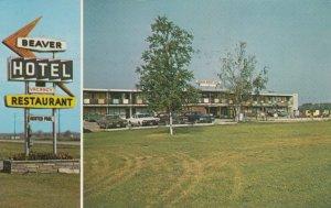 BEAVERTON , Ontario , Canada , 1986 ; Beaver Motor Hotel & Restaurant