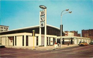 Autos Greyhound Bus Terminal 1960s Saint Louis Missouri Charmcraft 1849