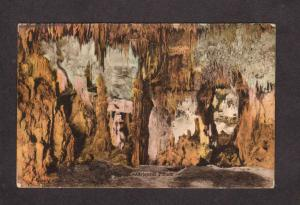 VA The Original Palace Endless Caverns Virginia Postcard Hand-Colored PC