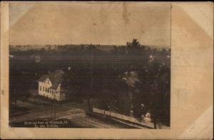 Millstadt IL Birdseye View c1910 Postcard