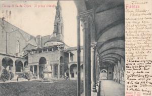 Chiesa Di Santa Croce, Il Primo Chiostro, Firenze (Tuscany), Italy, 1900-1910s