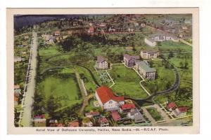 Aerial View of Dalhousie University, Halifax, Nova Scotia, RCAF Photo