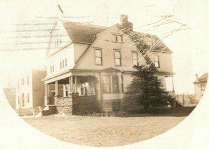 Victorian House 224 Wallace Ave. Covington Kentucky KY RPPC Photo Postcard