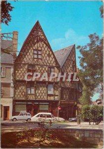 Modern Postcard Bourges (Cher) House fifteenth s Place Gordaine