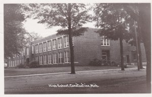Michigan Constantine High School 1972 Real Photo