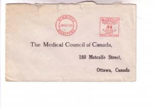 Cover Medical Council of Canada, Winnipeg Manitoba Meter 1953
