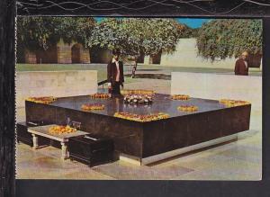 Raj Ghat,Delhi,India Postcard BIN