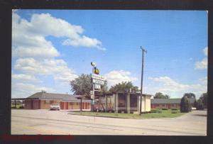 SPRINGFIELD MISSOURI WISHING WELL MOTEL ROUTE 66 AAA ADVERTISING POSTCARD