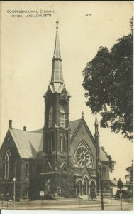 Congregational Church, Natick, Mass.